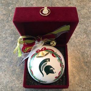 NWT Michigan State University Ornament
